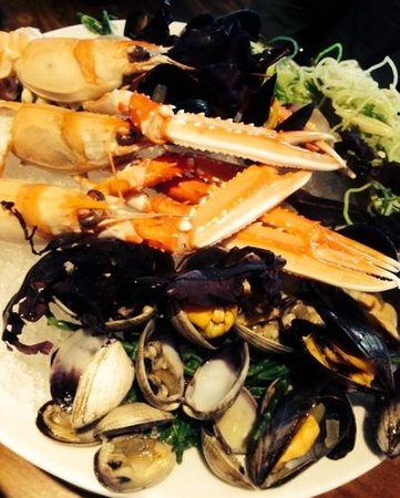 The Butchershop Bar and Grill : seafood starter