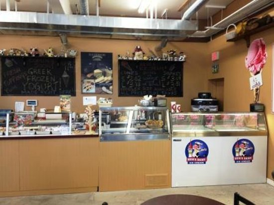 The Cheddar Stop: Ice Cream Counter