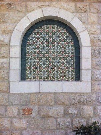 Taybeh Brewery: Window