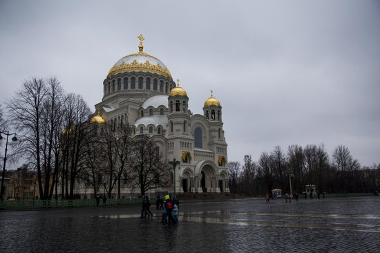 The Naval Cathedral of Saint Nicholas in Kronstadt : Никольский Морской собор