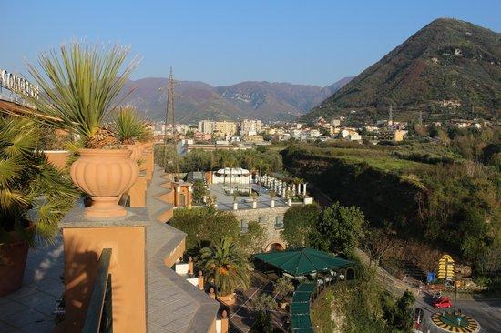Hotel dei Congressi: Sicht von der Dachterrasse