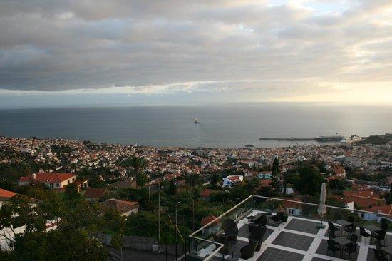 Quinta Mirabela: vue de la chambre, le matin
