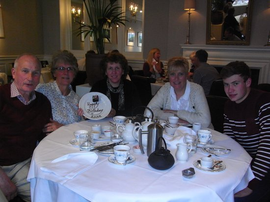Afternoon Tea at the Angel : Birthday