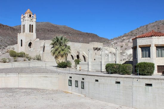 Scotty's Castle : The swimming pool, which never held water.