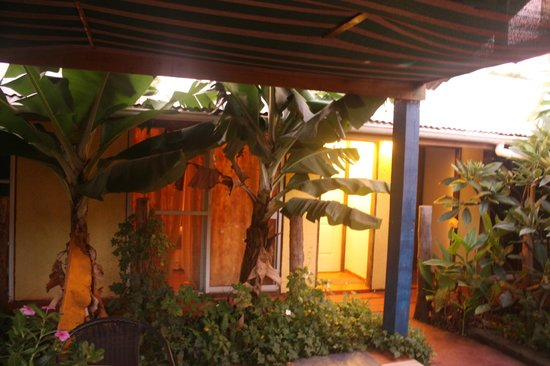 Tupa Hotel : View of rooms from courtyard
