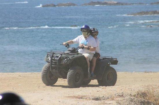 Wild Canyon Adventures : Double ATV at the beach