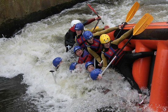 National Water Sports Centre : Failure to surf the rapids