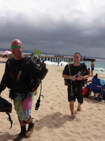 Crashboat Beach: shore diving