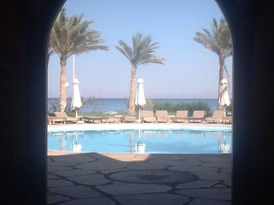 Dahab Paradise: View from reception.