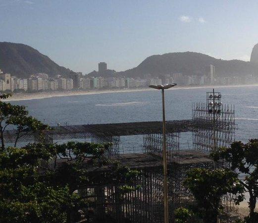 Sofitel Rio de Janeiro Copacabana: vue depuis la terrasse du déjeuner !!!