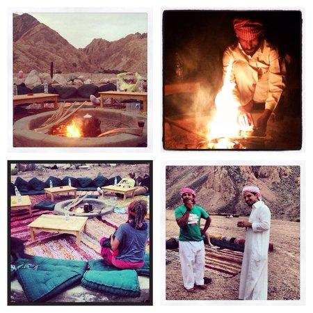 Dahab Paradise : Bedouin desert dining under the stars.