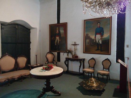 Casa de la Independencia : Ambiente interno recria a época da independência.
