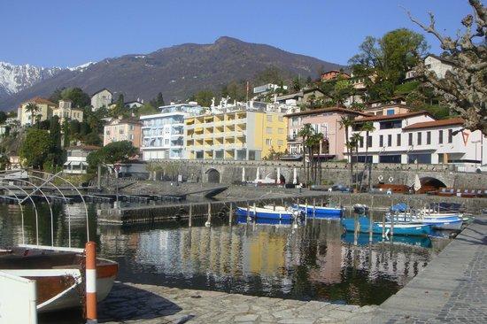 Piazza Ascona Hotel & Restaurants : Blick auf das Hotel