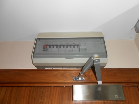 fuse box in old room above door picture of maldron hotel tallaght rh tripadvisor ie
