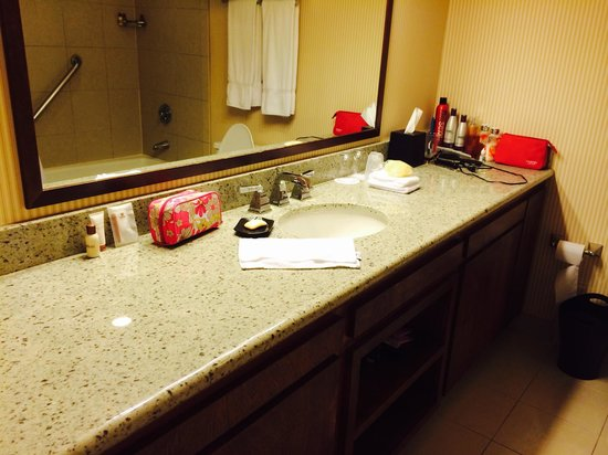 Sheraton Minneapolis West Hotel: Very nice and clean Bathroom!