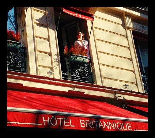 Hotel Britannique : Hotel with Jr Suite Windows