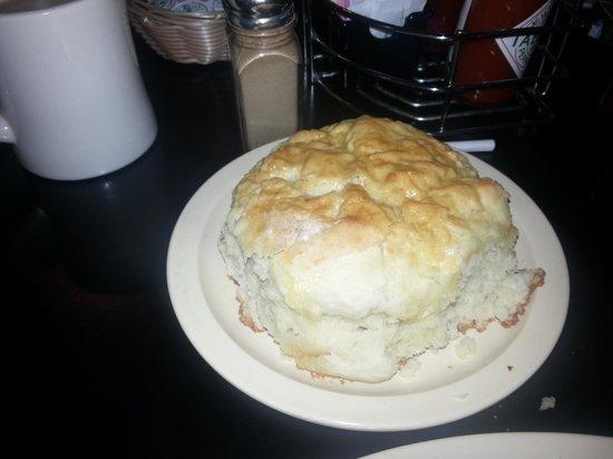Bisbee Breakfast Club: Biggest biscuit I've ever seen