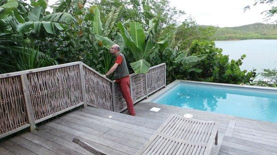 Hotel Plein Soleil : belle végétation environnante