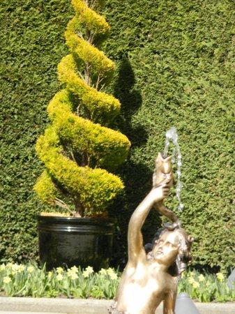 The Butchart Gardens : The Italian gardens