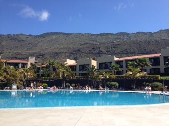 La Palma Princess & Teneguia Princess: view from one of the pools