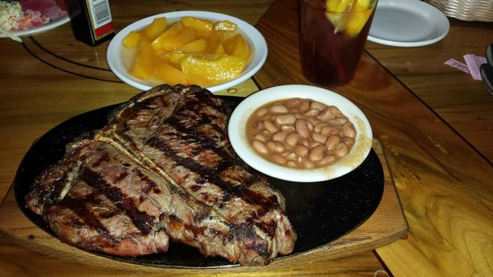 Silver Saddle Steak House: Porterhouse T-bone