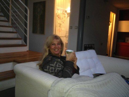 La maison de verre: Gerda Bender geniet van het leven....!