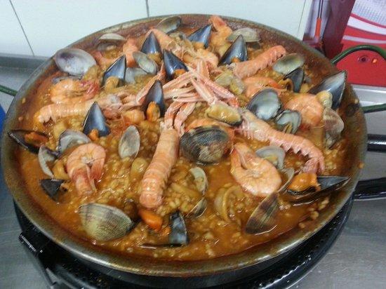 Restaurante  Club de Tennis Valls : Paella