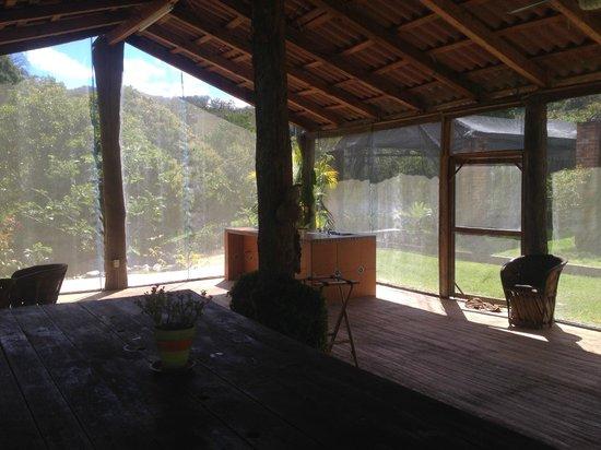 Villa Azalea - Luxury B&B: organic farm dinner and cooking class room