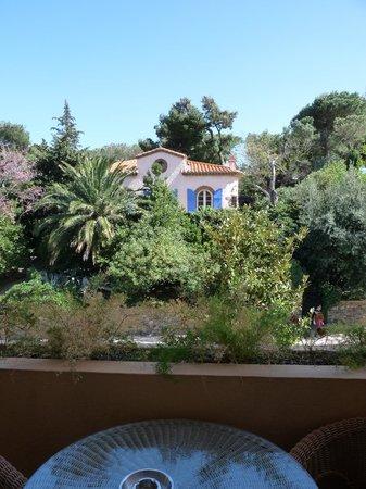 Hotel Le Mas des Citronniers: Vue de la terrasse