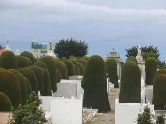 Hostel Keoken: vue sur le cimetière de la ville