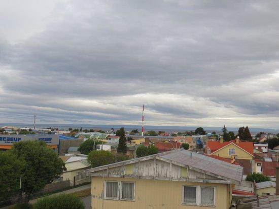 Hostel Keoken: vue depuis la chambre