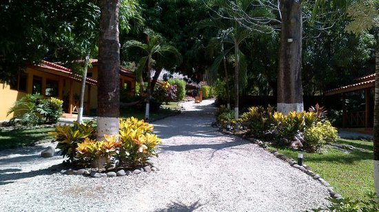 Esencia Hotel & Villas: path to cabins