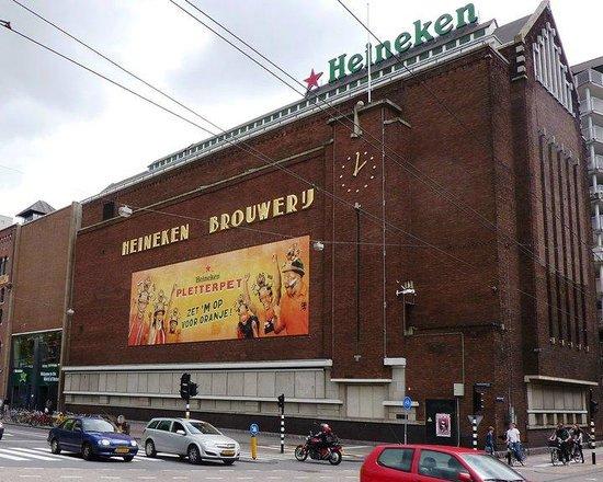 Heineken Experience: Fachada da Heineken