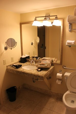 The Read House Historic Inn And Suites: Clean and well outfitted bathroom