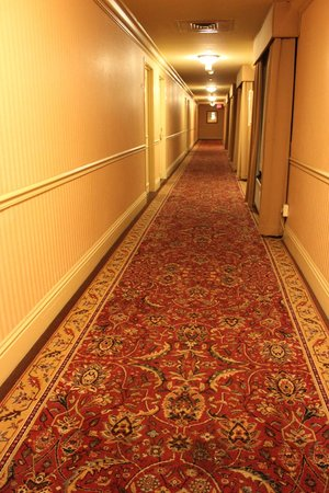 The Read House Historic Inn And Suites: Wide corridors