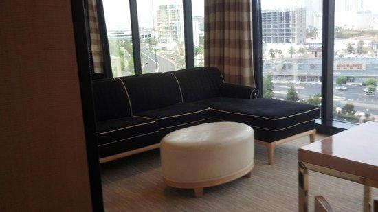 Encore At Wynn  Las Vegas: Living room area