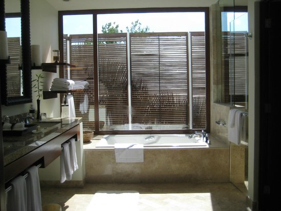 Fairmont Mayakoba: Awesome bathroom