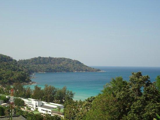Foto Hotel : vue de la terrasse du 2eme etage