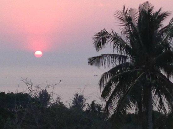 Foto Hotel : coucher de soleil