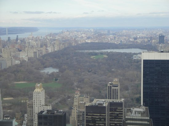 Rockefeller Center: Vista do central Park
