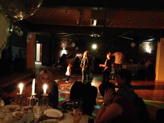Trinity Hotel: dancing on the dance floor
