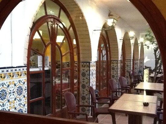Hotel Comarruga Platja : Отельная кафешка