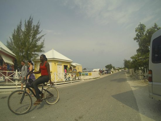 Grand Turk Cruise Center : local town, great for shopping!