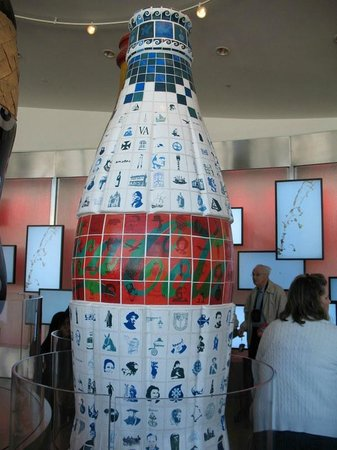 World of Coca-Cola : Olympic Artwork