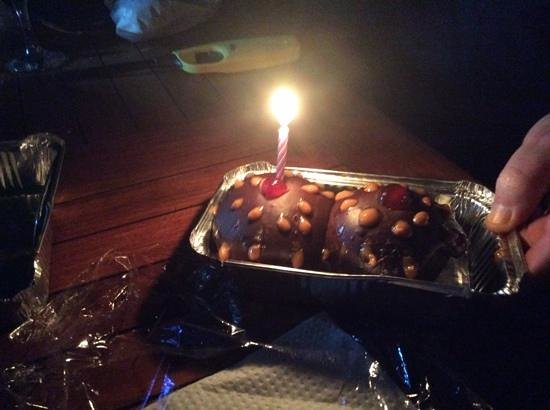 African Game Lodge: my birthday cuppy cakes!