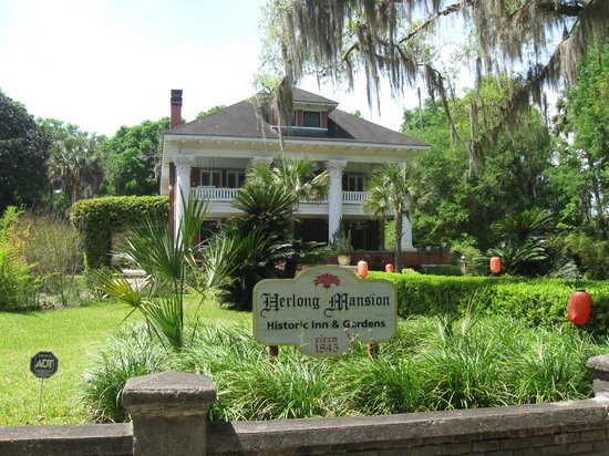 Herlong Mansion Bed and Breakfast Inn: The Mansion, on the National Register of Historic Buildings.