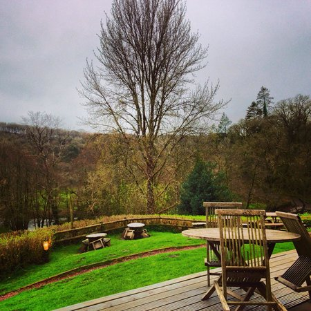 Tarr Farm Inn: Views from the terrace