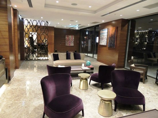 Avantgarde Taksim Hotel: réception et son salon