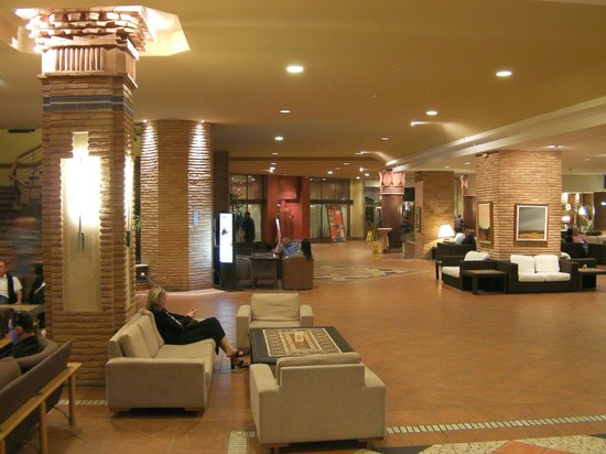 ClubHotel Riu Tikida Dunas: Reception area