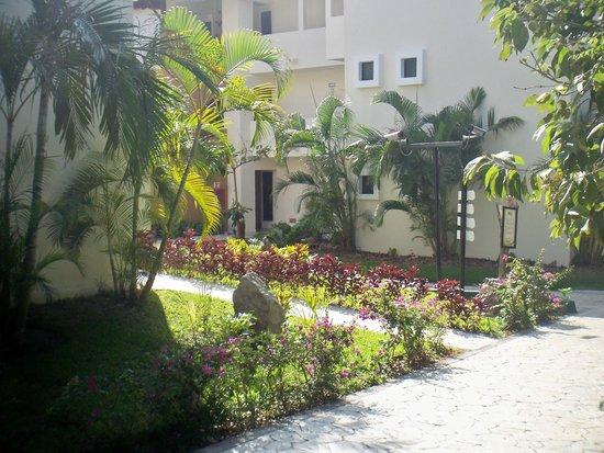 Sandos Caracol Eco Resort: jardin